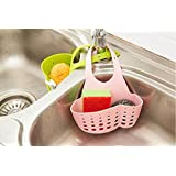 ITALISH Kitchen New Basket Bath Storage Kitchen Hanging Drain Bag Gadget Tool