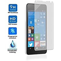 "Protector de Pantalla para Microsoft Lumia 550 4,7"" Cristal Vidrio Templado Premium, Electrónica Rey®"