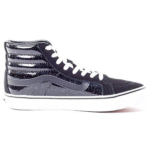 Vans - U Sk8-hi Slim Patent, Pantofole Unisex – Adulto Nero