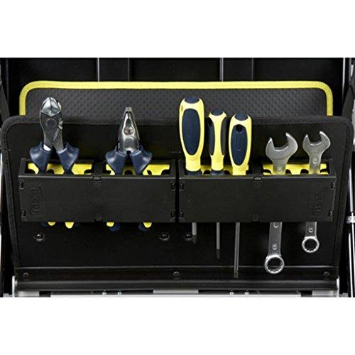 RAACO Werkzeugkoffer ToolCase fahrbar mit Rollen 485x410x250 mm - 2