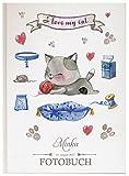 Personalisiertes Fotobuch für Ihr Haustier Pet Fotoalbum Erinnerungsbuch (Motiv 02, 120 Seiten/ 60 Blatt)