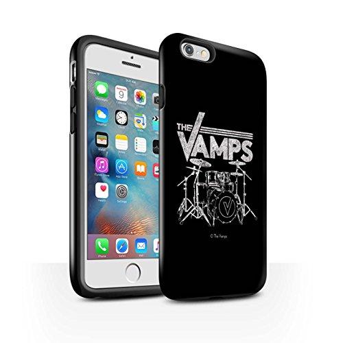 Officiel The Vamps Coque / Brillant Robuste Antichoc Etui pour Apple iPhone 6S+/Plus / Pack 6pcs Design / The Vamps Graffiti Logo Groupe Collection Batterie
