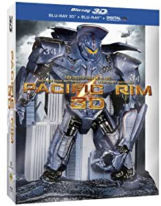 Pacific Rim [Combo Blu-ray 3D + Blu-ray + Copie digitale - Packaging en relief]