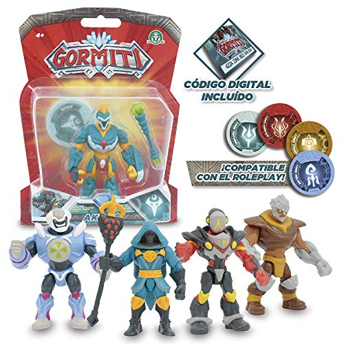 Gormiti - 8 cm Fully Articulated Figures, Multicoloured - Assorted models