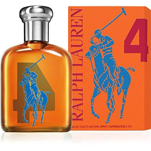 Ralph Lauren Big Pony Collection No. 4 - Orange Eau de Toilette 75 ml, 1er Pack (1 x 75 ml)