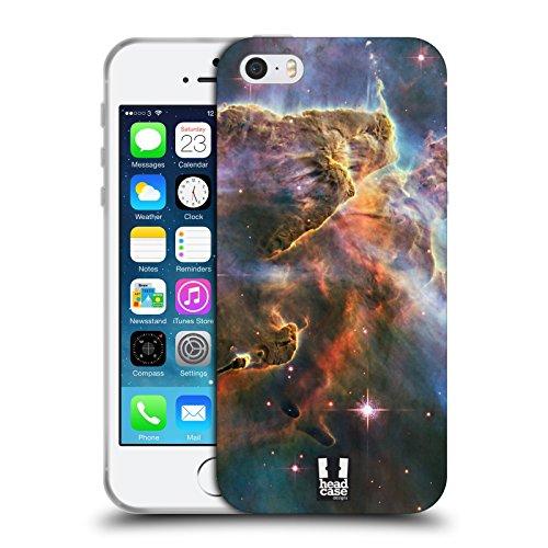 Head Case Designs Jupiter Espace Étui Coque en Gel molle pour Apple iPhone 6 / 6s Carina Nébuleuse