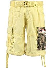 Geographical Norway Paragone Herren Cargo Shorts Bermuda Sommer kurze Hose  Pants a58656c62b