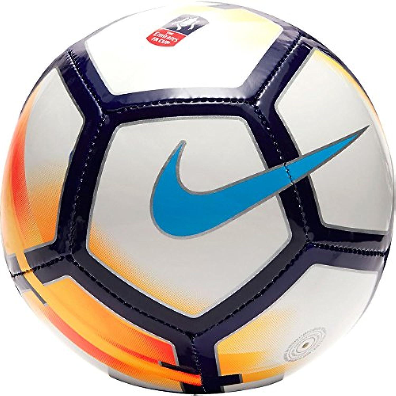 Nike FA Cup Skills fußball Soccer Ball White/Bright Mango/Chlor blau