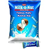 MAHAK Milk-N-Nut Pouch Coconut Nariyal Mithai (Pack of 100)