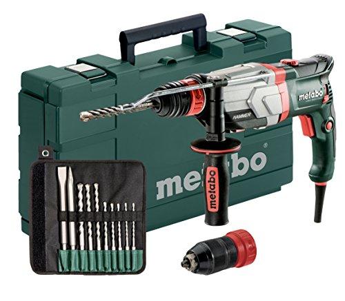 Preisvergleich Produktbild Multihammer / Bohrhammer UHEV 2860-2 QUICK SET | mit umfangreichen Zubehör, 4 Funktionen: Hammerbohren, Bohren in zwei Gängen und Meißeln, Hochleistungsschlagwerk | 3,4 J / 1100 W