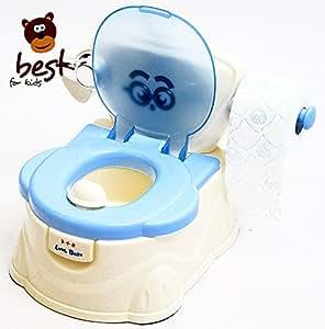 best for kids n7551 bleu pot d 39 apprentissage avec porte. Black Bedroom Furniture Sets. Home Design Ideas
