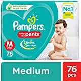 Pampers New Diapers Pants, Medium (76 Count)