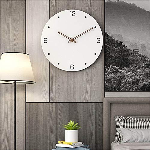 guyuell 16 Zoll Vintage Twig Form Zeiger Wanduhr Wohnzimmer Moderne Dekor Kunst Uhren Schlafzimmer Mute Quarzuhr, B -