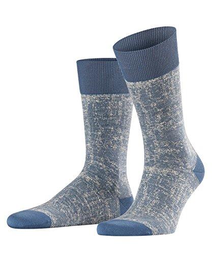 FALKE Herren Socken Hand-Loom, Blau (Balticblue 6568), 43-46 (Herren-socken Loom)