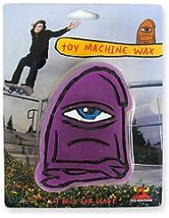 TOY MACHINE TMWAX002 - Cera para skateboards, color morado