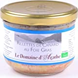 Rillettes de canard au foie gras, 180 g, Bocal twist of