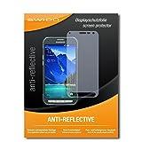 SWIDO Bildschirmschutz für Samsung Galaxy S6 Active [4 Stück] Anti-Reflex MATT Entspiegelnd, Hoher Härtegrad, Schutz vor Kratzer/Glasfolie, Schutzfolie, Bildschirmschutzfolie, Panzerglas Folie