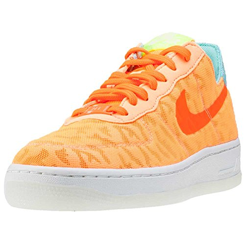 Nike Air Force 1 07 Prm, Sandales Compensées femme Orange