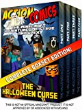 Action Comics Boxset: The Minecraft Adventures of Steve and Alex: The Halloween Curse - Complete Boxset Edition (Parts 1, 2, 3 &4) (Minecraft Steve and Alex Adventures) (English Edition)