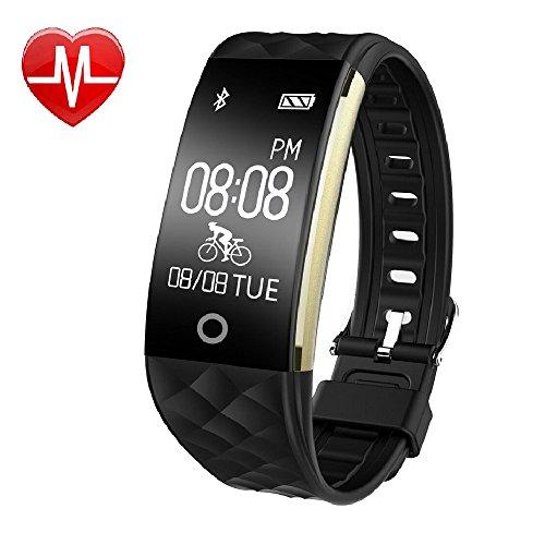 YAMAY-HR4-Fitness-Tracker-Watch-with-Heart-Rate-MonitorWaterproof-IP67-Activity-Tracker-Smart-Band-Bluetooth-Pedometer-Smart-Bracelet-Wristband-Watch