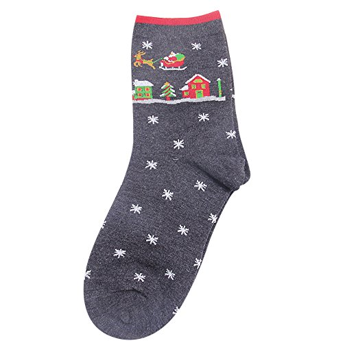 TEBAISE Damen Socken aus Baumwolle Thermal Socken Erwachsene -