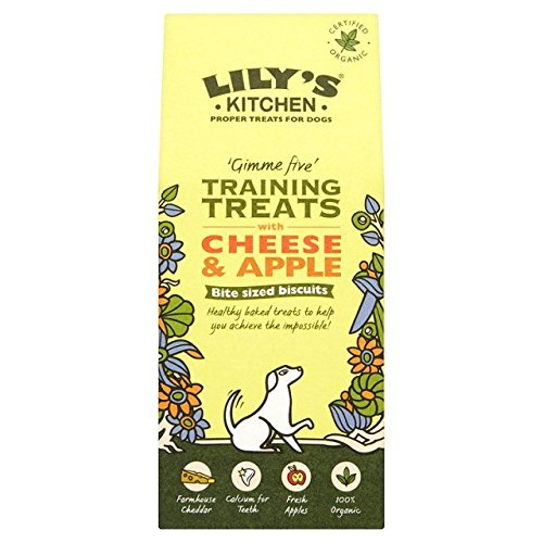 Lily's Organic Training Treats with Cheese & Apple 100g (Pack of 3)