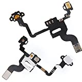 FLAT FLEX SENSORE LUCE ACCENSIONE LUMINOSITA' PROSSIMITA' PER IPHONE 4 ON OFF *