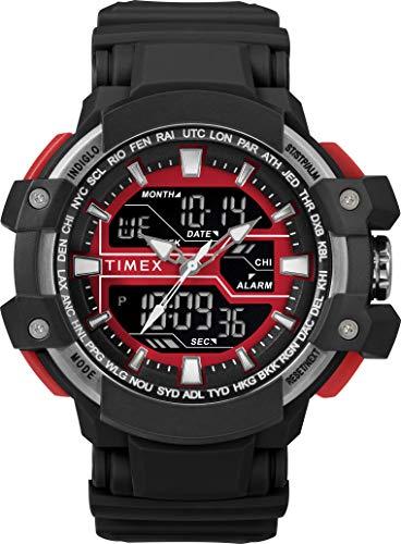 Timex Orologio Digitale Uomo con Cinturino in Resina TW5M22700