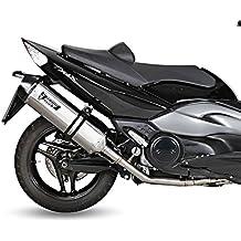Escape Mivv Speed Edge Yamaha T-Max 500 08-11 Acero inoxidable/ carbono