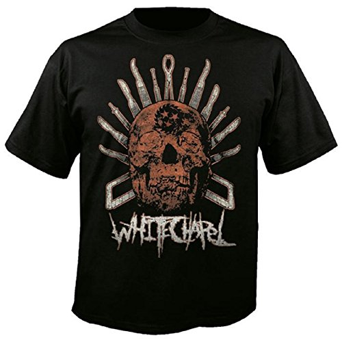 WHITECHAPEL- Surgical Skull - T-Shirt - Größe Size L Whitechapel T-shirts