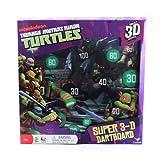 Nickelodeon Teenage Mutant Ninja Turtles Super 3D Dart Board mit magnetischen Pfeile & steht