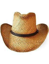 dd62ed6a3705c Sombrero de paja sombrero Gorro Cooler Bogarthut correa de piel
