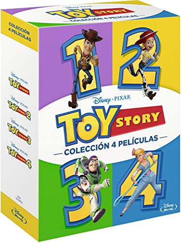 Pack: Toy Story 1 a 4 (Bl