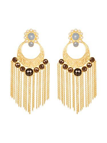 Label Amara Designer Floral Chanbalis Blue Stone for Women
