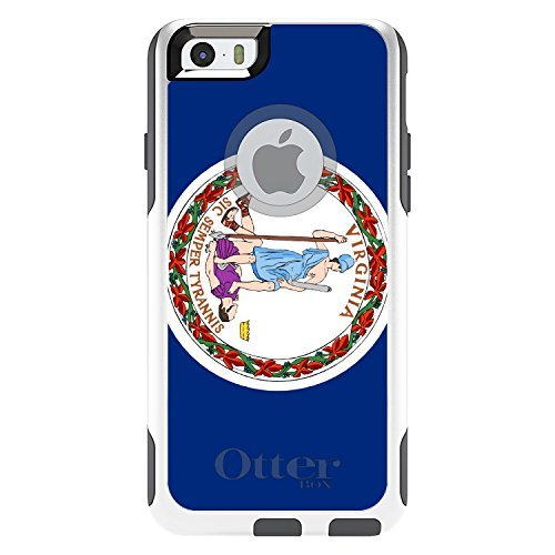 custom-white-otterbox-commuter-series-case-for-apple-iphone-6-plus-55-model-virginia-state-flag