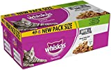 Whiskas Tasty Textures Cat Pouches Mixed Selection, 40 x 85g