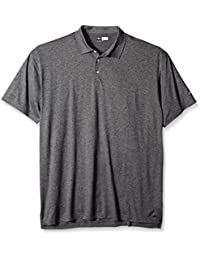 Callaway Men's Big & Tall Golf Performance Heathered Short Sleeve Polo Shirt