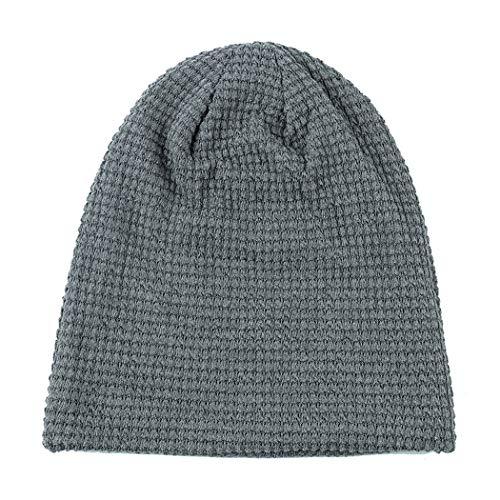 DAMENGXIANG Erwachsene Herbst Winter Stricken Outdoor Warm Cap Männer Freizeit Mode Hip H