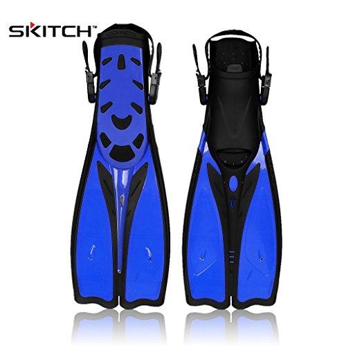 SKITCH® 1 Paar Unisex Erwachsene Jugend Schwimmen Flossen Fuß Flipper Tauchen Ausrüstung Schnorcheln Training Flossen Wassersport