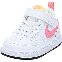 Nike Court Borough Low 2 (TDV), Chaussure de Piste d'athltisme Garçon Mixte Enfant