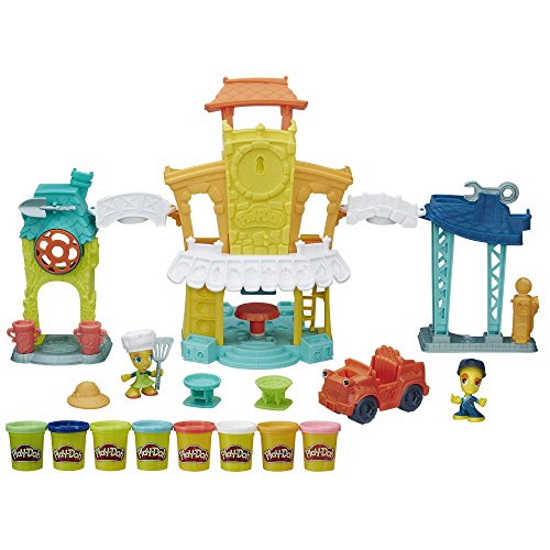 Play-doh town 3-in-1 town center by play-doh