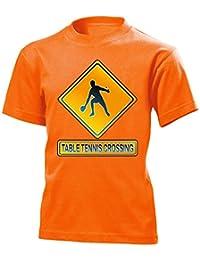 TABLE TENNIS CROSSING Enfants T-Shirt size 110 to 164 différentes couleurs