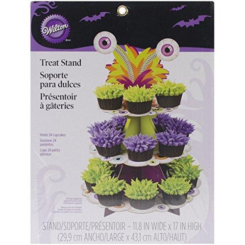 Wilton Treat Stand-Halloween Cut 3Etagen, andere, Mehrfarbig (Etage 3 Halloween)