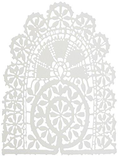 Crafters Workshop-Stencil, in plastica, 15 cm x 15 cm, Tatting