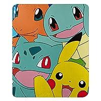 """Pokémon,""""Meet the Group"""" Fleece Throw Blanket, 45"""" x 60"""", Multi Color"""