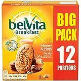 Belvita miel et noix petit déjeuner Biscuit Grand 12 x 50g