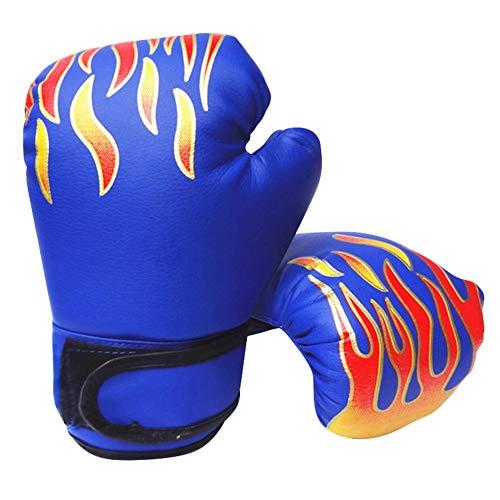 Verlike Sports Boxhandschuhe, Kickboxhandschuhe, Erwachsene, Muay Thai Gel-Sparring-Trainingshandschuhe, blau