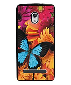 Techno Gadgets Back Cover for Micromax Canvas Evok E483