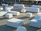 Bean Bag and Sofas Nautical Faux Leather for Outdoors, Various Colours and Custom Sizes