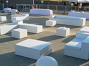 Pouf e divanetti per esterno in sky nautico vari colori e for Divanetti esterno